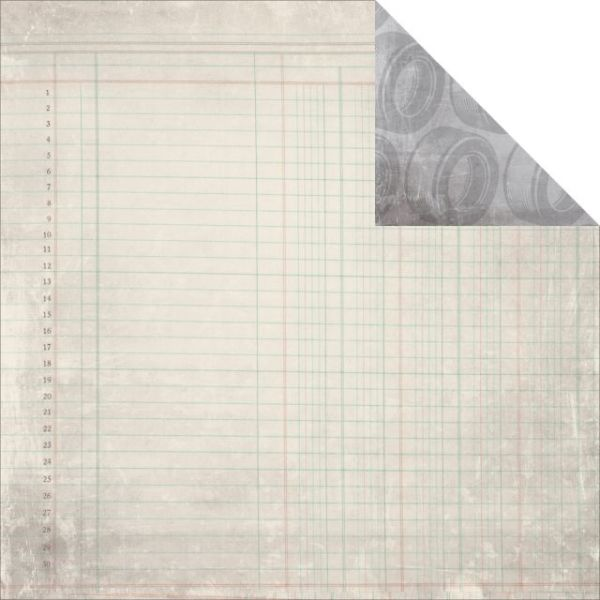 Garage Days Double-Sided Cardstock