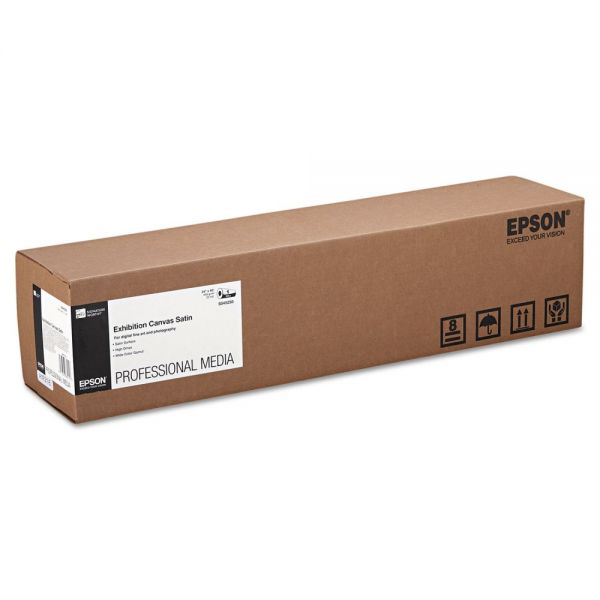 "Epson Exhibition Canvas Satin, 24"" x 40 ft. Roll"