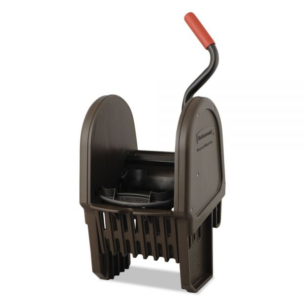 Rubbermaid Commercial WaveBrake Down-Press Wringer, Brown
