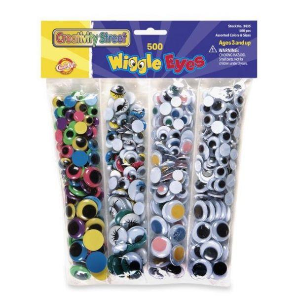 Creativity Street Wiggle Eyes Assortment Pack