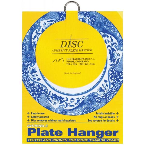 Invisible Plate Hanger 4""