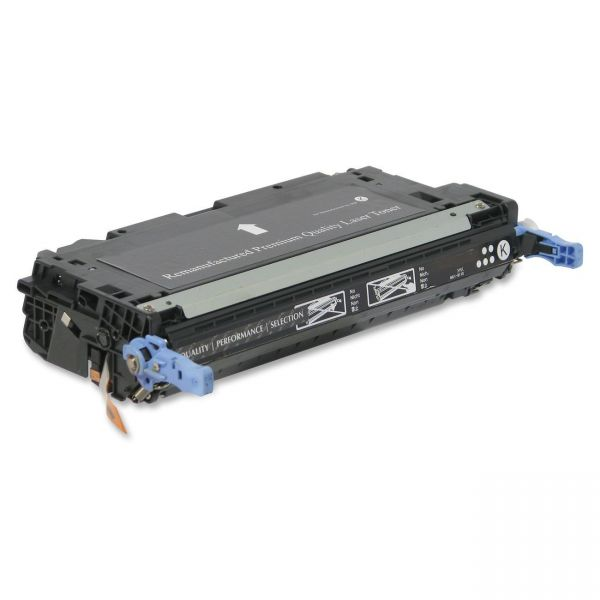 SKILCRAFT Remanufactured HP Q6470A Black Toner Cartridge
