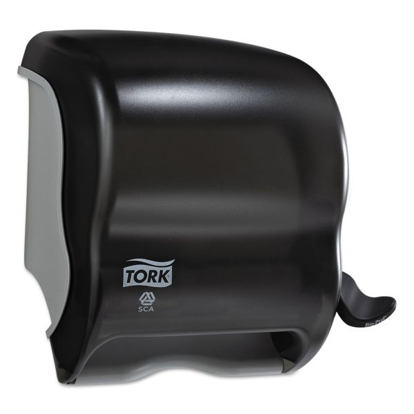 Tork Compact Hand Towel Roll Dispenser, 12.49 x 8.6 x 12.82, Smoke
