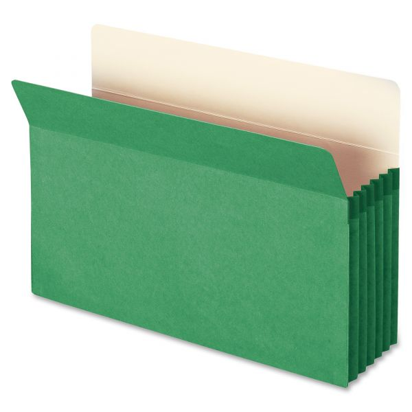Smead 74236 Green Colored File Pocket