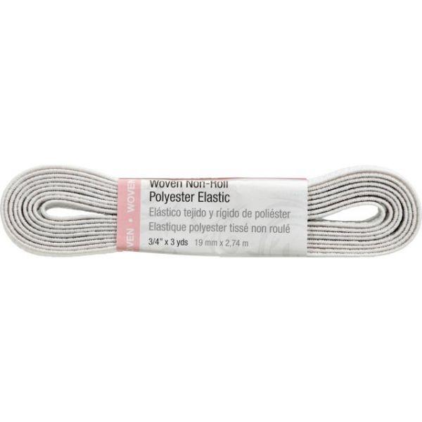"""Washable Polyester Elastic 3/4""""X3yd"""