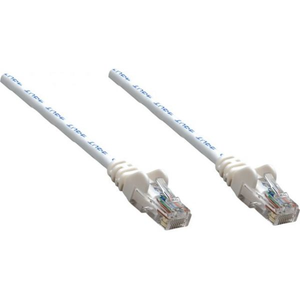 Intellinet Patch Cable, Cat5e, UTP, 100', White