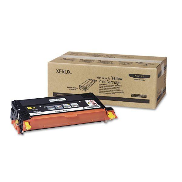Xerox 113R00725 Yellow High Yield Toner Cartridge