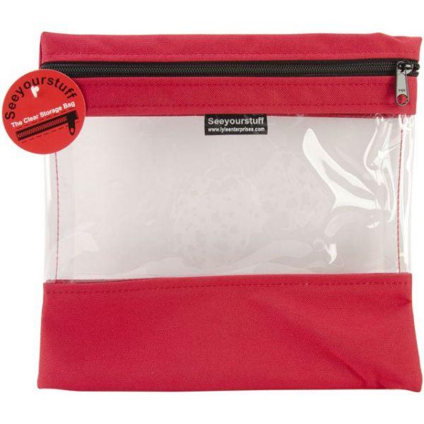 """Seeyourstuff Clear Storage Bag 10""""X11"""""""