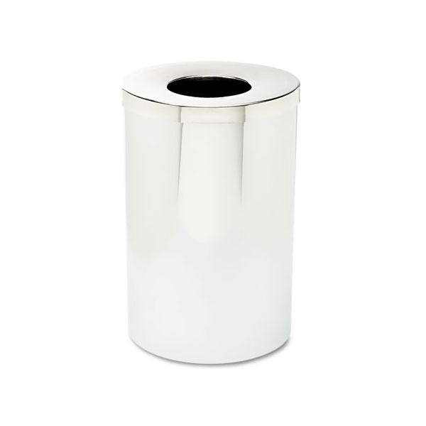 Safco Reflections Open Top 35 Gallon Trash Can