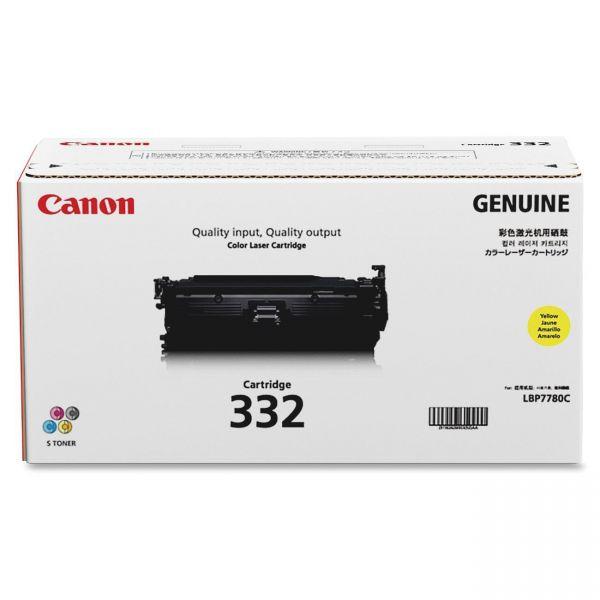 Canon 332 Yellow Toner Cartridge (CRTDG332Y)