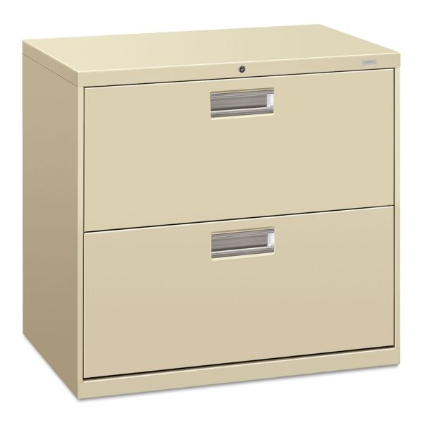 HON 600 Series 2 Drawer Lateral File Cabinet
