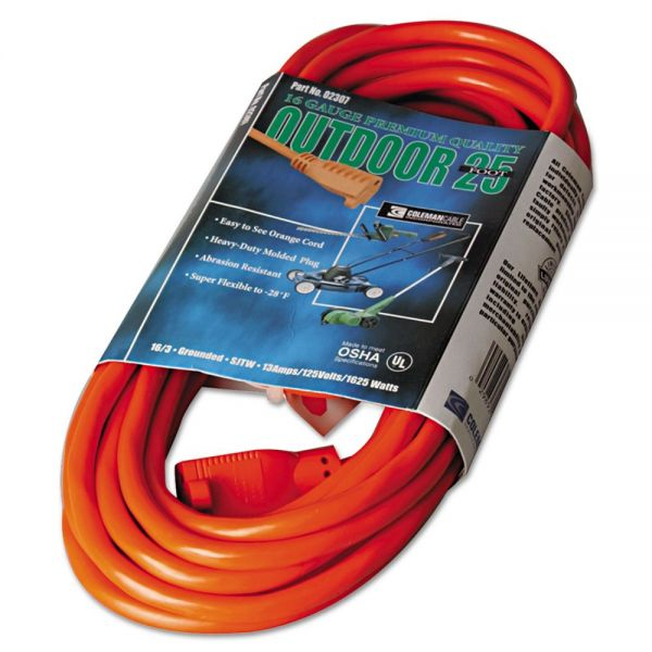 CCI Vinyl 25' Outdoor Extension Cord