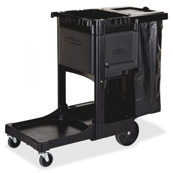 Rubbermaid Executive Janitor Cleaning Cart