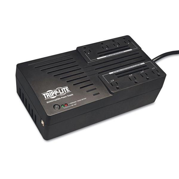 Tripp Lite AVR550U AVR Series UPS Battery Backup System, 8 Outlets, 550 VA, 420 J