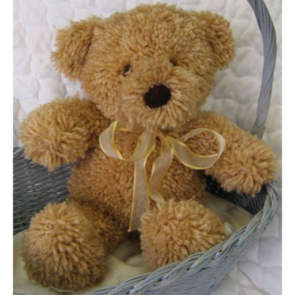"Huggables Stuffed Toy Latch Hook Kit 14"""
