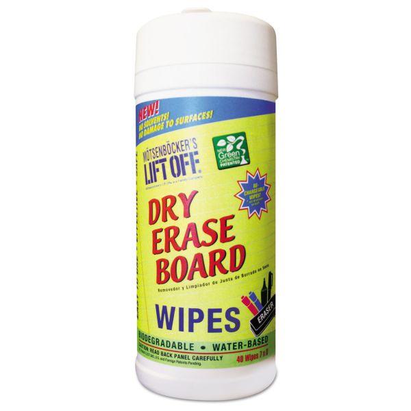 Motsenbocker's Lift-Off Dry Erase Board Cleaner Wipes