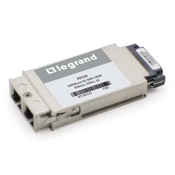 C2G Cisco WS-G5484 compatible 1000Base-SX GBIC Transceiver (MMF, 850nm,550m, SC)