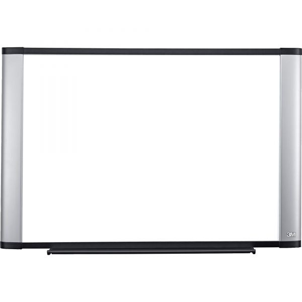 """3M 72"""" x 48"""" Widescreen Magnetic Porcelain Dry Erase Whiteboard"""