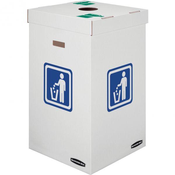 Bankers Box 42 Gallon Trash & Recycling Bins