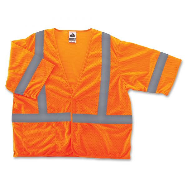 GloWear Class 3 Orange Economy Vest