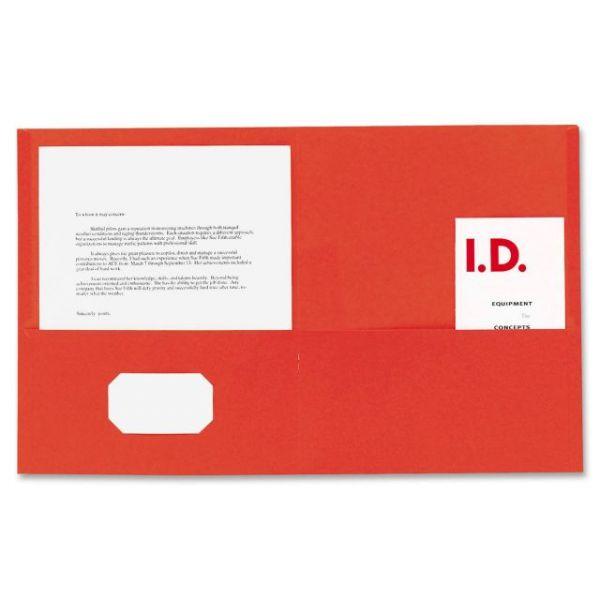 Sparco Two Pocket Folders