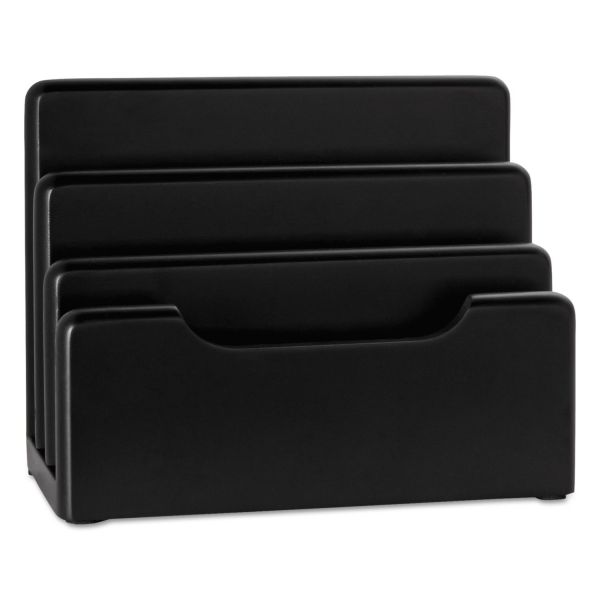 Rolodex Black Wood Mini Sorter