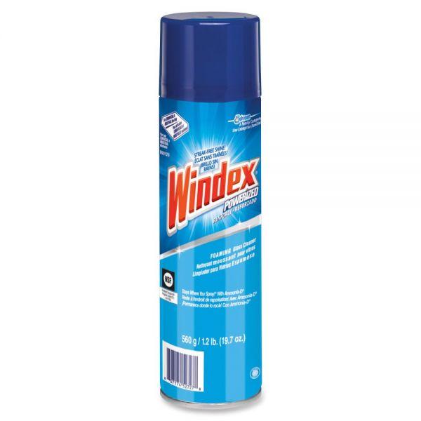Windex Powerized Foam Glass Cleaner