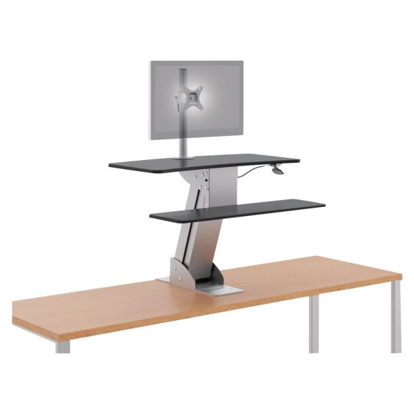 HON Directional Desktop Sit-To-Stand Device | Single Monitor Arm