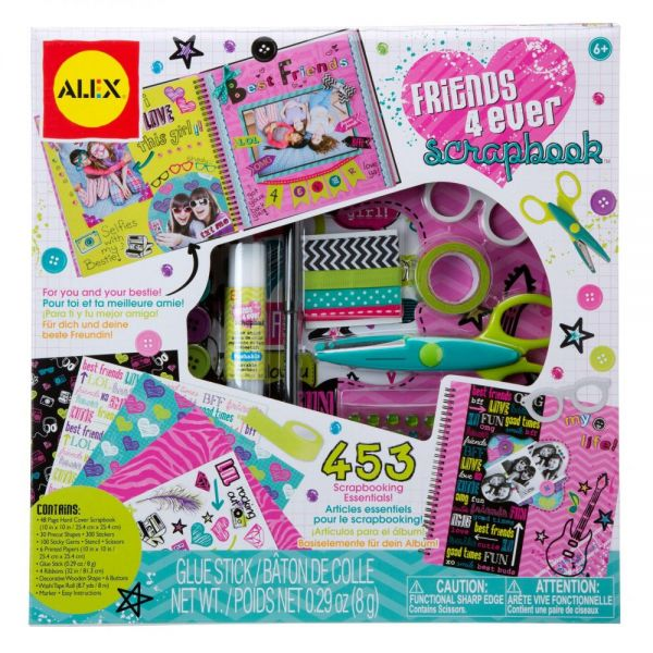 ALEX Toys Friends 4 Ever Scrapbook Kit