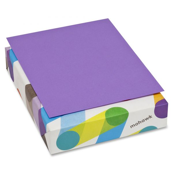 Mohawk Brite-Hue Colored Paper - Violet