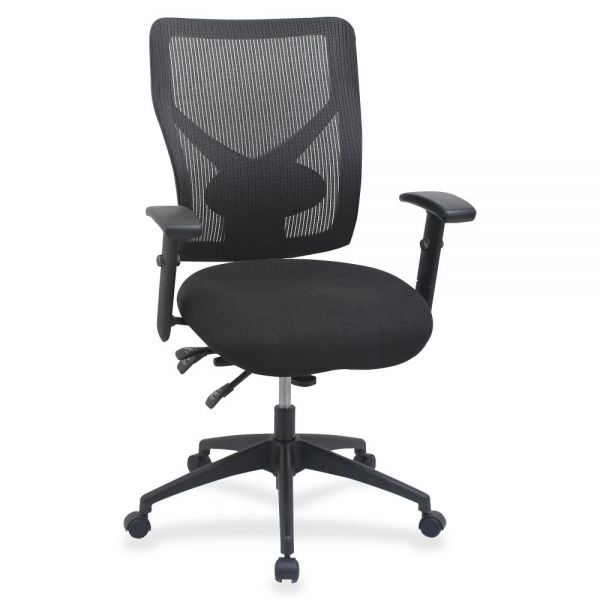 Lorell Multi-task Control Mesh Back Chair