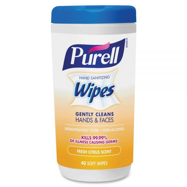 Purell Hand & Face Sanitizing Wipes