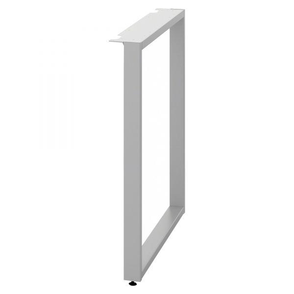 HON Voi O-Leg Support for Low Credenza, 30d x 7h, Platinum Metallic