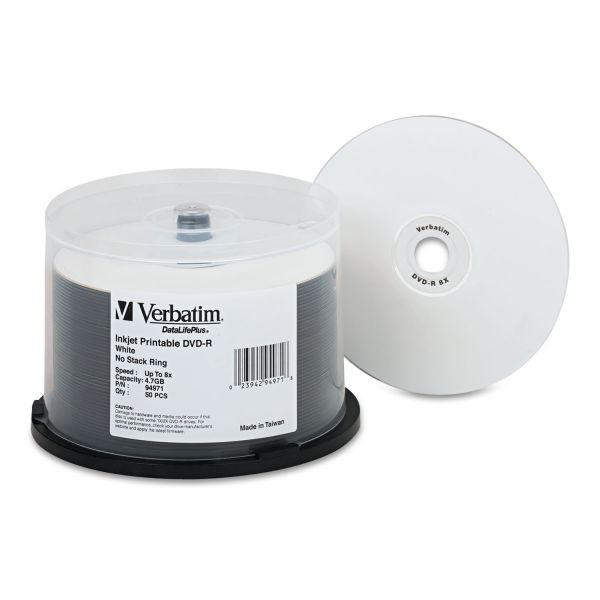 Verbatim DataLifePlus Recordable DVD Media