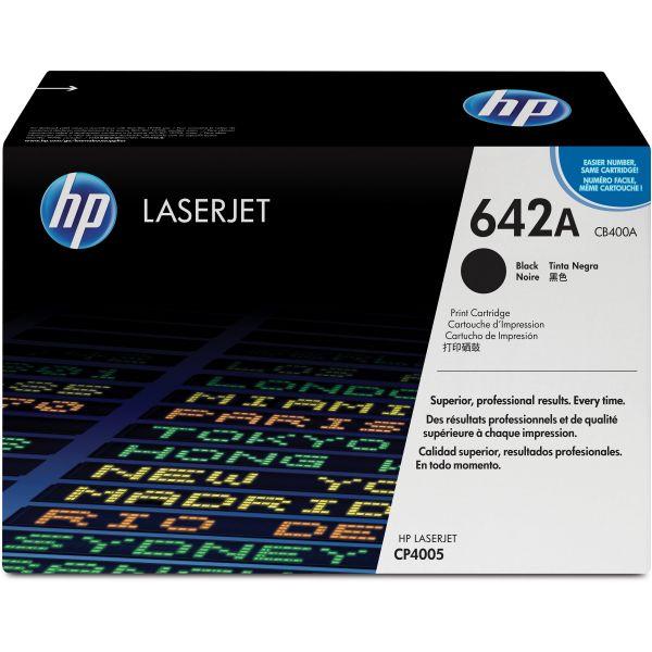 HP 642A Black Toner Cartridge (CB400A)