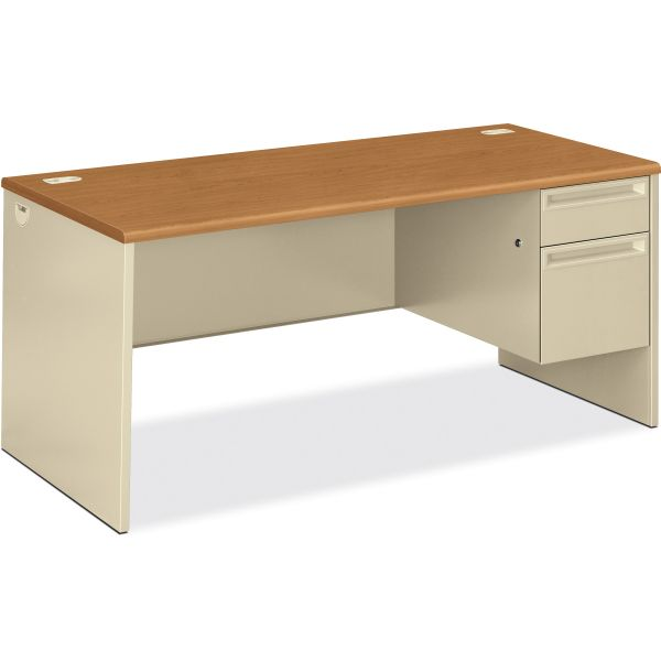 HON 38000 Series Right Pedestal Computer Desk
