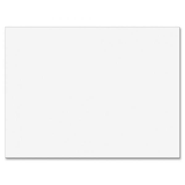 Pacon White Construction Paper