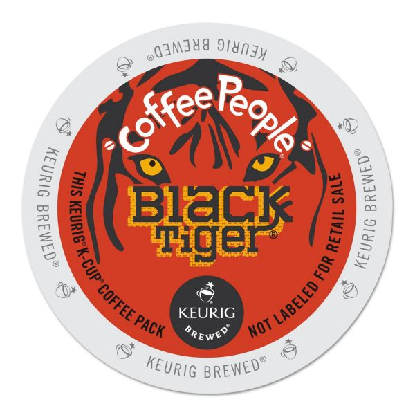 Coffee People Black Tiger Coffee K-Cups
