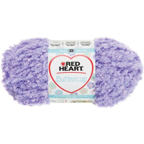 Red Heart Buttercup Yarn - Sugar Plum