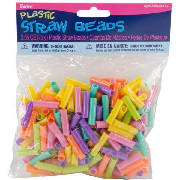 Darice Plastic Straw Beads