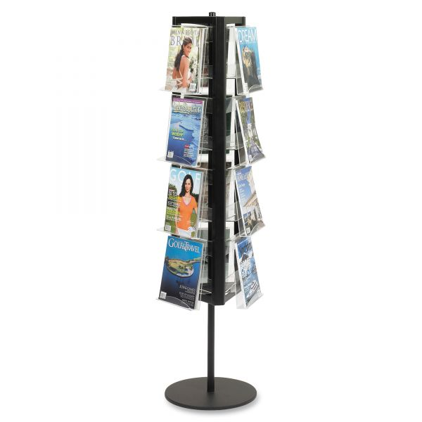 Safco In-View Rotary Literature Display