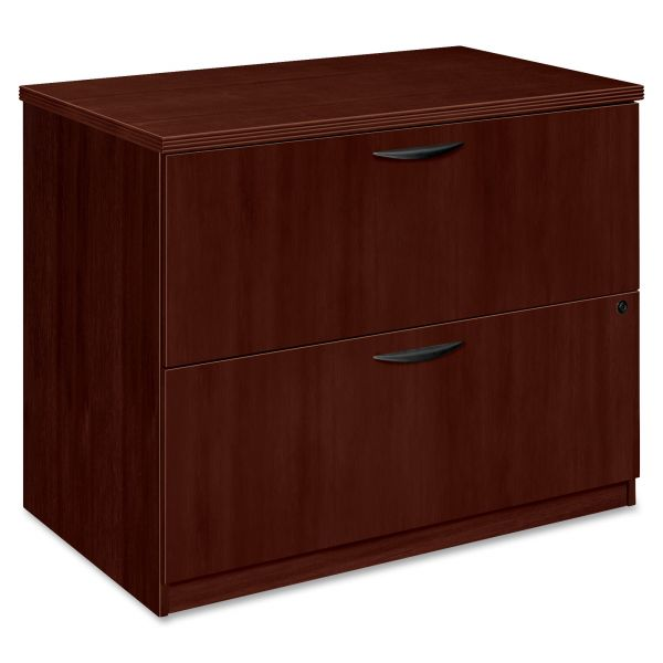 HON Basyx 36W x 24D x 29H Two-Drawer Lateral