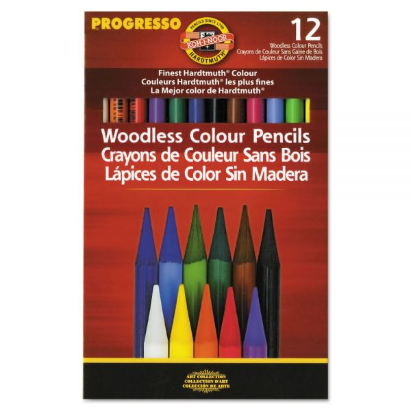 Koh-I-Noor Progresso Woodless Colored Pencils