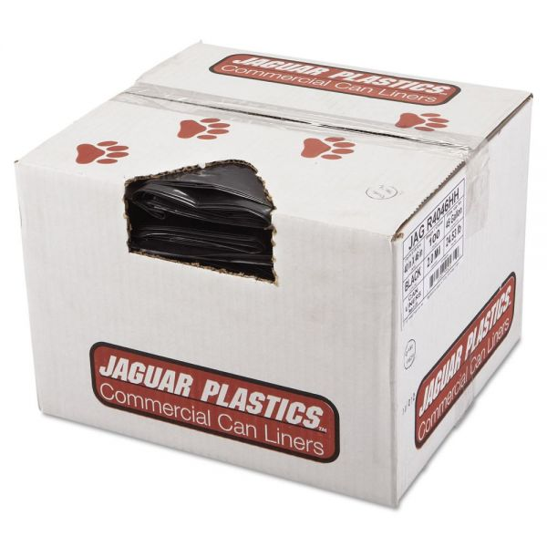 Jaguar Plastics Industrial Strength 45 Gallon Trash Bags