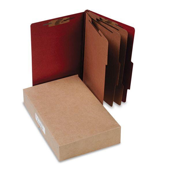 Acco Pressboard 8-Part Classification Folder with Fasteners