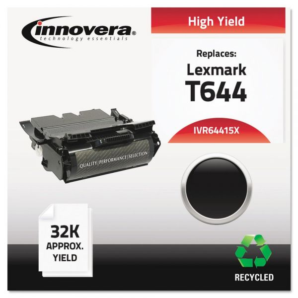 Innovera Remanufactured Lexmark T644 High Yield Toner Cartridge