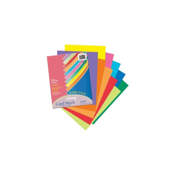 Pacon Array Printable Colored Card Stock