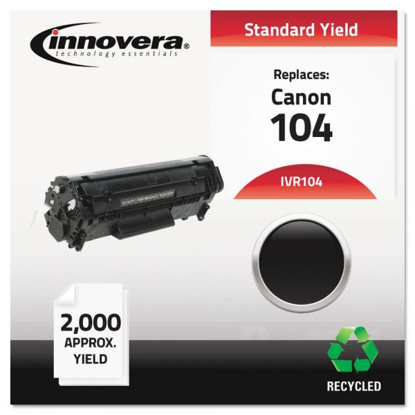 Innovera Remanufactured 0263B001AA (104) Toner, Black