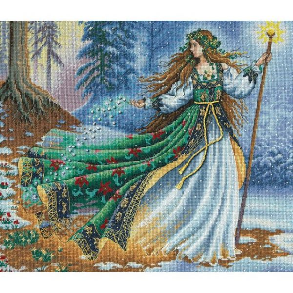 Dimensions Gold Collection Woodland Enchantress Counted Cross Stitch Kit