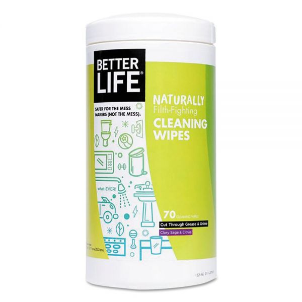 Better Life Naturally Filth-Fighting Cleaning Wipes